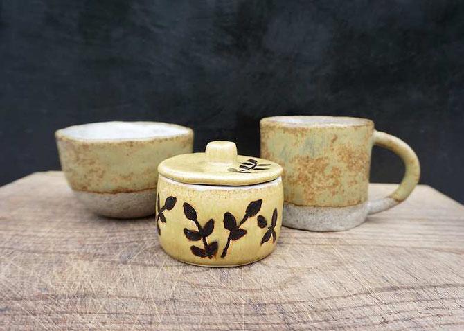 handgetöpferte Keramik von develloppa