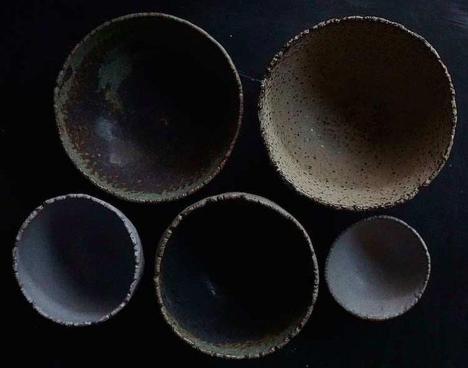 handgetöpferte Daumenschalen - develloppa