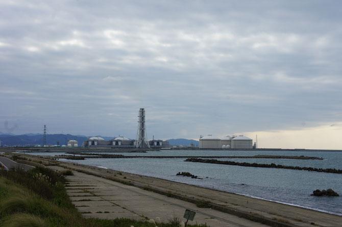 今日のうみまちから望む日本海。寒空にちょっとだけ「寂しい想い」がしました