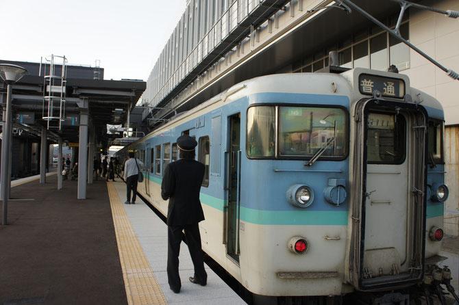 本日、「新・脇野田駅」の開業。新幹線の駅舎に寄り添って。新たな出会いの始まりです