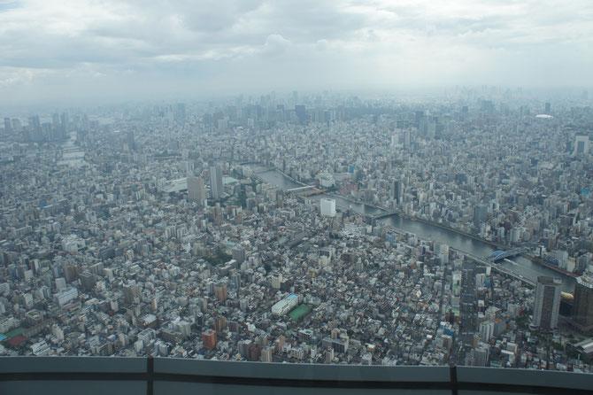 度肝を抜かれる東京の街並み。今年は戦後70周年。ここまでに変化するとは誰が想像できたでしょうか