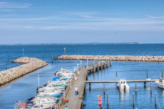 Hafen von Glowe auf Rügen