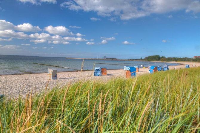Strand direkt vor der Ferienwohnung Arkonablick