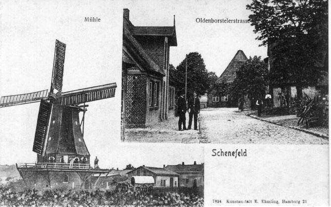 """,,Historisches aus Schenefeld"""" zeigt der neue Kalender 2014,  der ab sofort im           Modegeschäft von Norbert Graf erworben werden kann."""