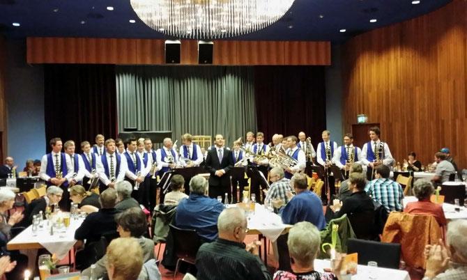 Wunderbare Konzertatmosphäre im Kursaal von Bad Krozingen