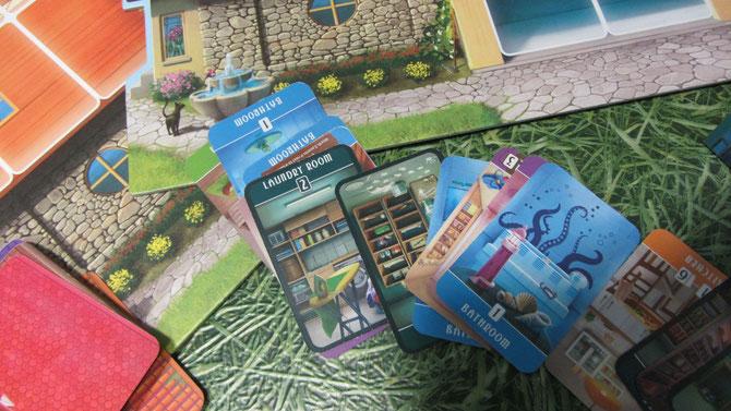 """""""Dream Home"""" karty pokoi"""