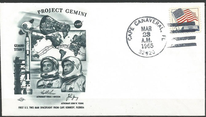Gemini 3 launch  cover dated 23.03.1965