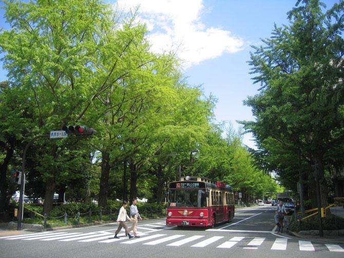 Near Yamashita-koen (park) on May 2, 2013