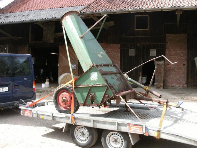 Nach langer Suche, in der Nähe von Bremen endlich gefunden, den Schlegel-Feldhächsler FL 110