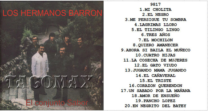 image Los Hermanos Barron   20 Super Exitos Vol2