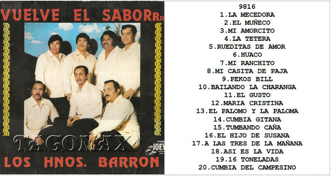 image Los Hermanos Barron   Super Exitos Vol1
