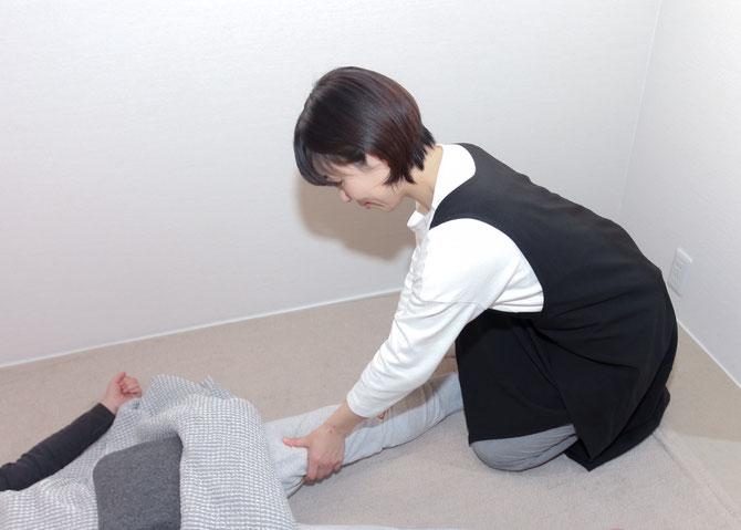 反射法・疲労回復プログラム「フレッシュアップセラピー」