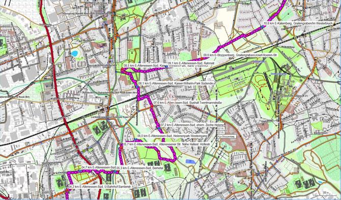 Parkanlagen im Essener Norden und Gelsenkirchener Westen Teil 2