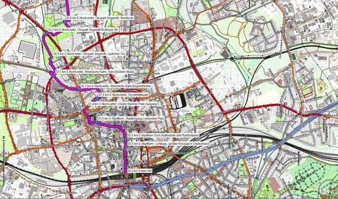 Parkanlagen im Essener Norden und Gelsenkirchener Westen Teil 1