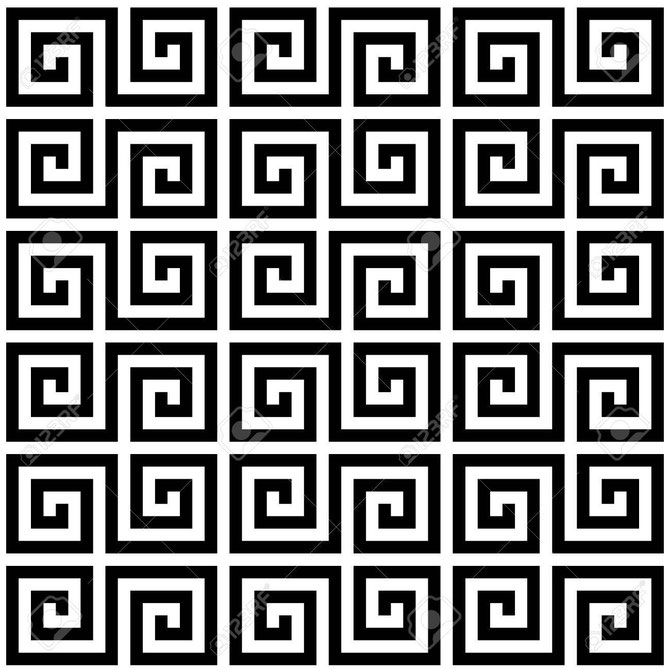 A RAS could be designed around this Greek textile pattern