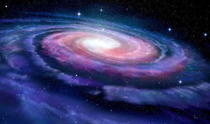 Even the Milky Way galaxy is a spiral - Zai pits in space?