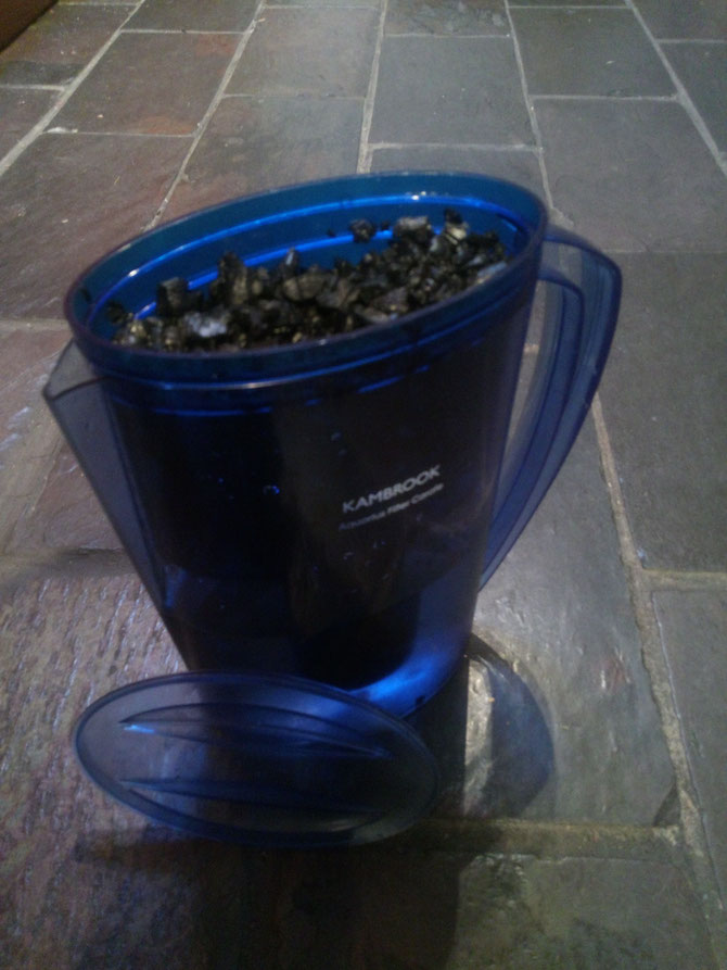 Biochar for water filtration