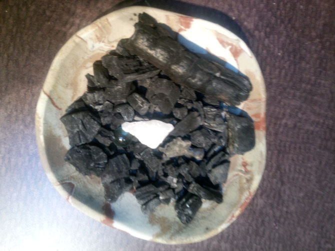 Biochar for indoor air filtration - nanoscale surface area - does the job