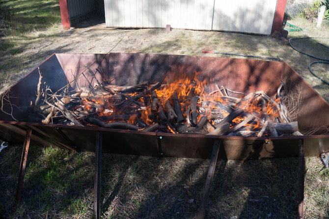 The FMBK inaugural burn