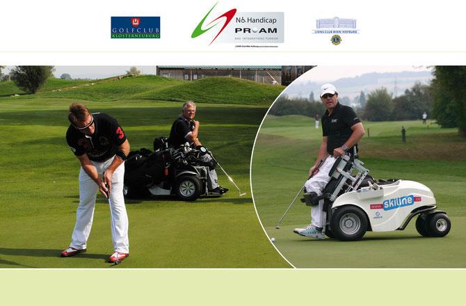 GCKlosterneuburg veranstalte am 1. Juni 2013 das bereits 3. NoHandicap-Golfcharity-ProAM im Diamond CC Atzenbrugg