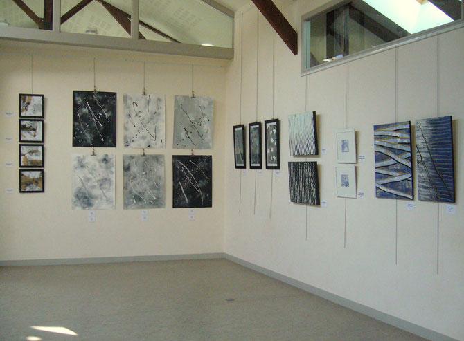 """expo """"en écho"""" - mars 2011 - médiathèque de VOUILLE (86)"""