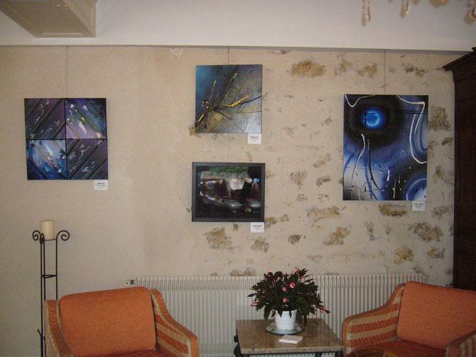 """exposition """"en miroirs"""" avec Laurent SAURET, photographe - Chateau de Périgny à VOUILLE (86) - septembre à décembre 2011"""