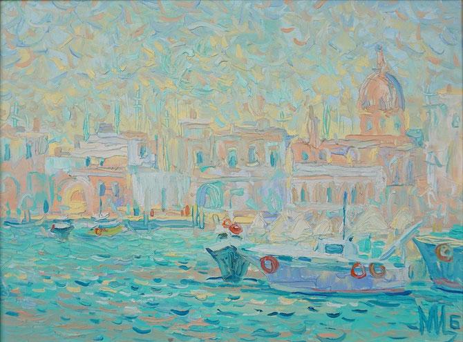 живопись маслом,Maria Bogacheva ,Tscirkina,современная, живопись, импрессионизм, подарок, достойный, лучший,эксклюзивный, пейзаж, современный, декор, для интерьера, живопись, импрессионизм, морской пейзаж