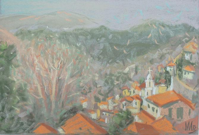 Пафос, Кипр,Tsirkina, Bogacheva, maria,Циркина, Богачева, Мария, импрессионизм,пастель, подарок, эксклюзивный, достойный, пастель, графика, живопись
