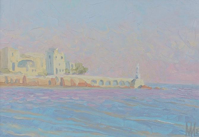 средиземное море, пленеры ,Отронто,medeterane,живопись маслом,Maria Bogacheva ,Tscirkina,современная, живопись, импрессионизм, подарок, достойный, лучший,эксклюзивный, пейзаж, современный, декор, для интерьера, живопись, импрессионизм, морской пейзаж