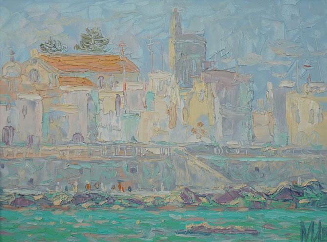средиземное море, пленеры,Отранто,medeterane,живопись маслом,Maria Bogacheva ,Tscirkina,современная, живопись, импрессионизм, подарок, достойный, лучший,эксклюзивный, пейзаж, современный, декор, для интерьера, живопись, импрессионизм, морской пейзаж