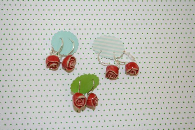 Oringe Rose Paar 14 € ( Nickelfrei)