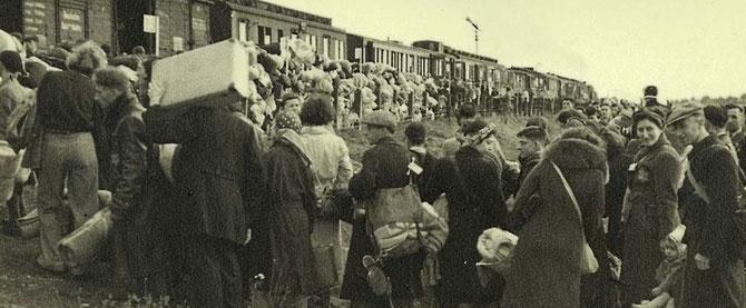 Deportation aus Westerbork