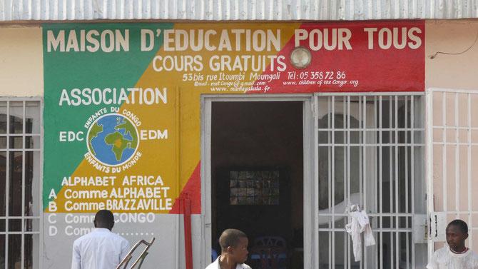 Maison d'éducation pour tous à Brazzaville