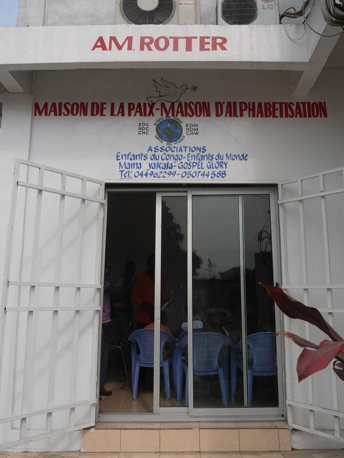 Première Maison de la Paix au Congo Brazzaville 2012