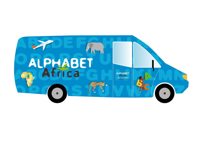 Caravane Alphabet Africa wabotaï et Isabel Colomer copy right 2012