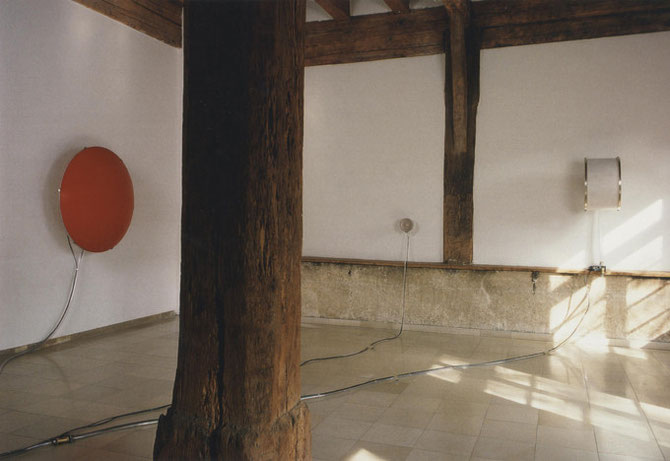 """Atem"", Galerie im Heppächer, Esslingen, 1995"