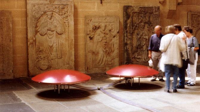"Atemwege"" (im Rahmen des Projekts ""Klangschatten"", St. Severi, Erfurt, 2000)"
