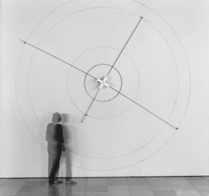 """Zeichenmaschine (""""Con Sequenzen"""", Galerie der Künstler, München, 2001)"""