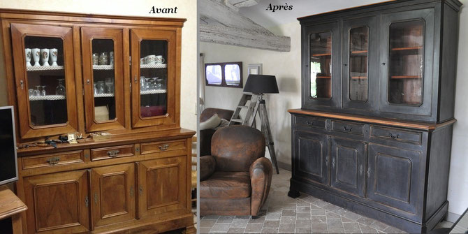 grand confiturier haut avant pendant apr s site des patines de m lusine. Black Bedroom Furniture Sets. Home Design Ideas