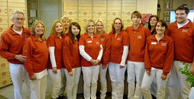 Das Team der SOMA Apotheke