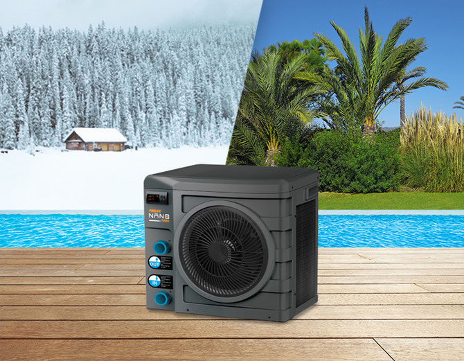 Pompa di calore per piscine Fino a -5 °C esterni