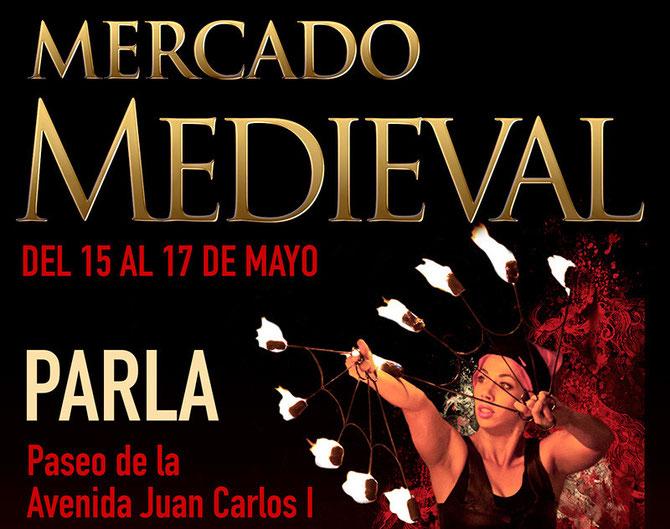 Cartel Mercado Medieval de Parla