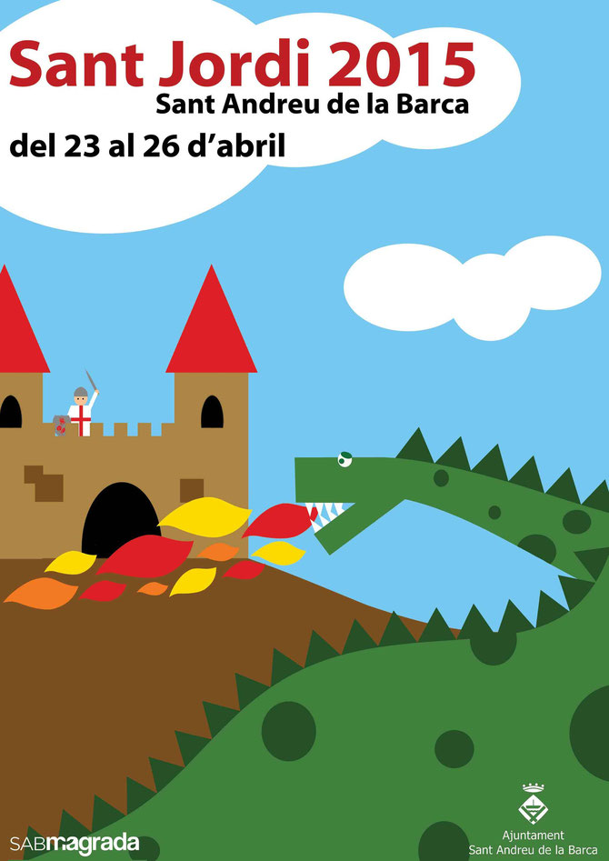 Programa de la Festa de Sant Jordi en Sant Andreu de la Barca