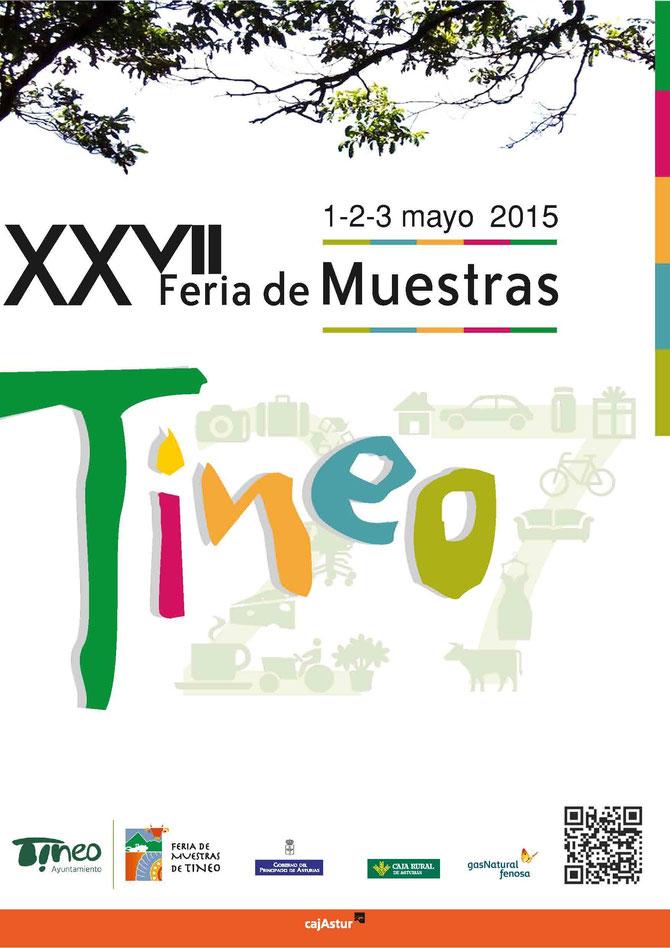 Programa de la Feria de Muestras en Tineo