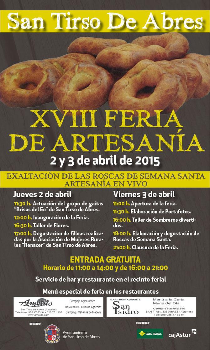 Feria de la Rosca de Semana Santa en San Tirso de Abres