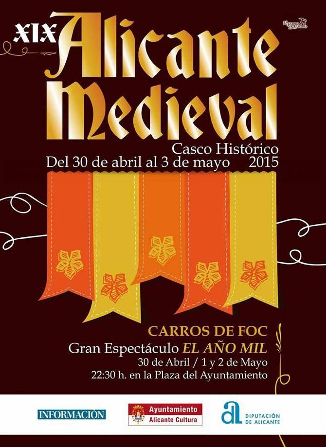 Programa del Mercado Medieval de Alicante