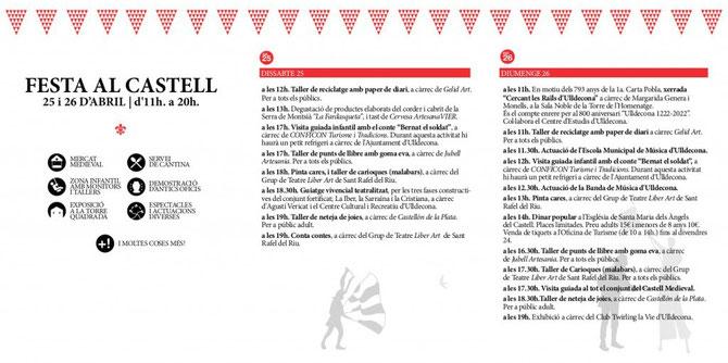 Programa del Mercado Medieval en Ulldecona