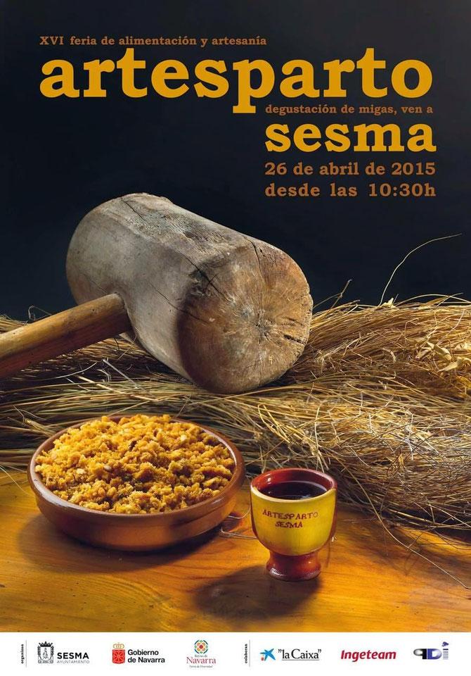 Feria de alimentacion y artesania en sesma