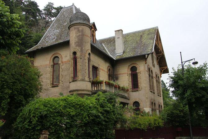 La villa russe, construite en 1890, classée monument historique