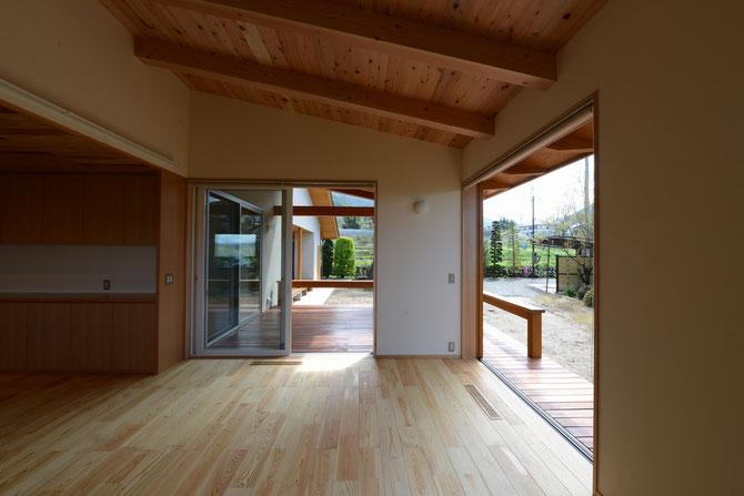 里山辺の家(松本市) 松本市の住宅 長野県松本市・安曇野市の建築設計事務所 建築家